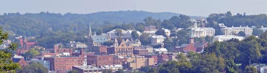 View of Staunton