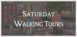Saturday Walking Tours